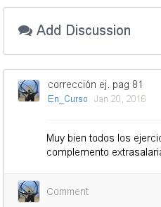 Comentarios