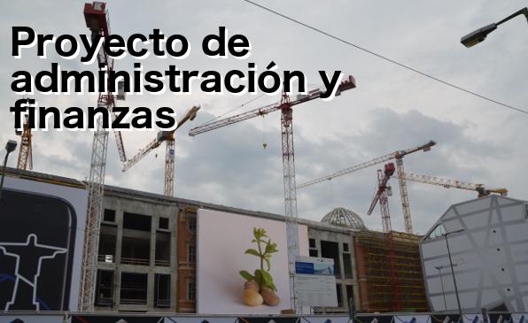 Proyecto de administración y finanzas